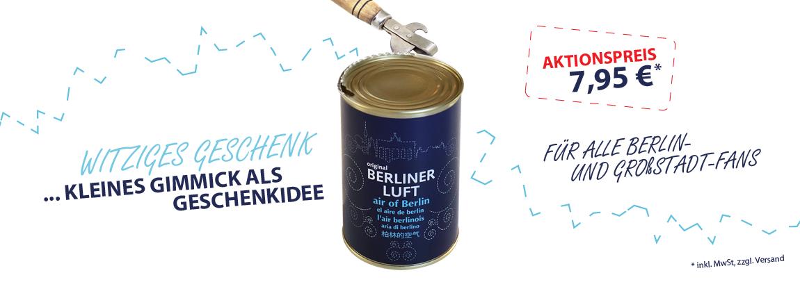 HMF Geschenkidee Berliner Luft