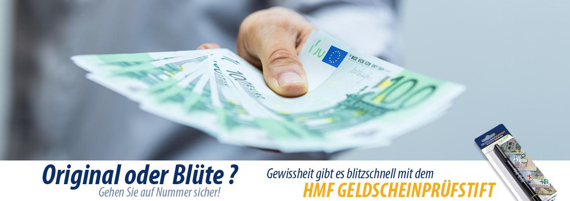 HMF Geldscheinprüfstift, Schnelltester