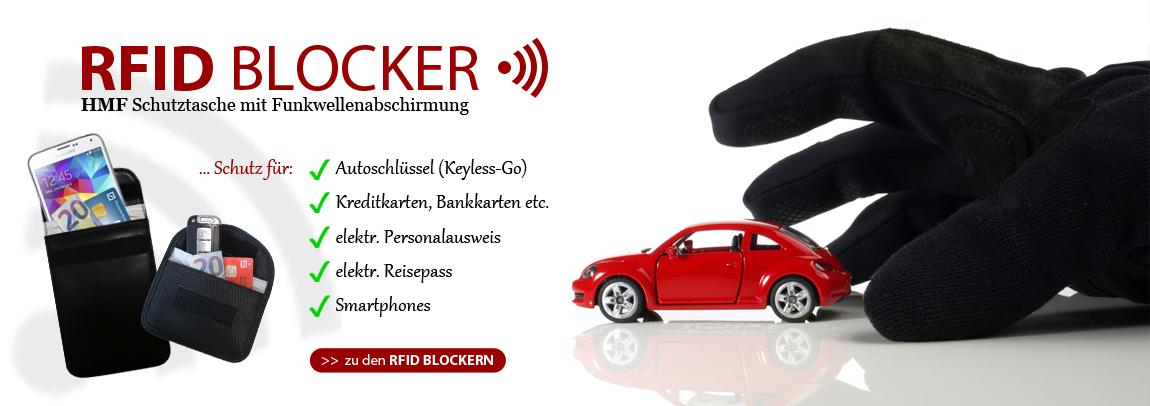 HMF RFID Schutztaschen