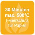 30 Minuten Feuerschutz für Papier