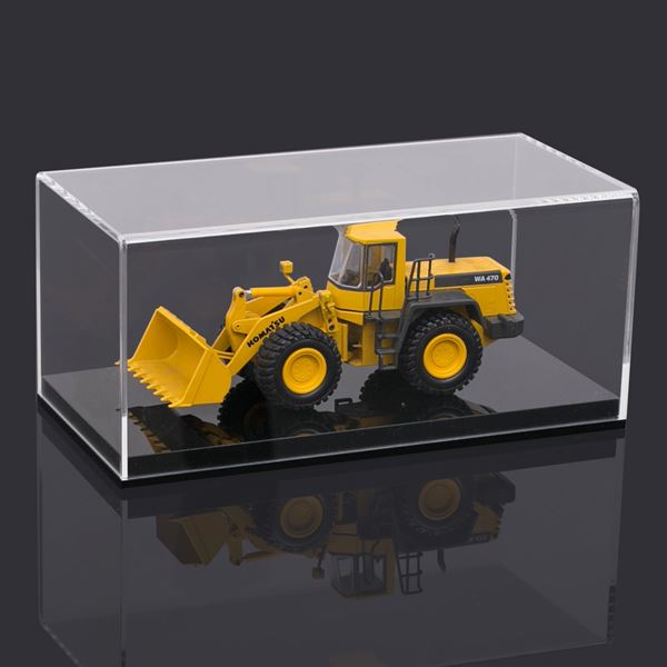 Acryl Vitrine für Modellautos, Figuren, HMF 46801, 24 x 12 x 11 cm