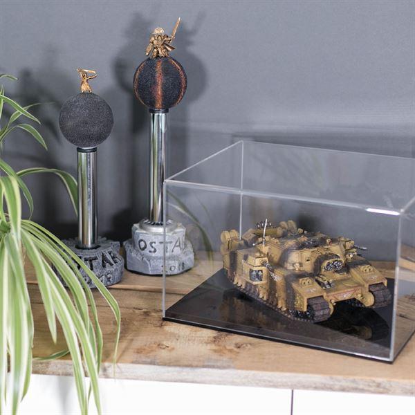 Acryl Vitrine für Modellautos, Figuren, HMF 46806, 32 x 28 x 20 cm