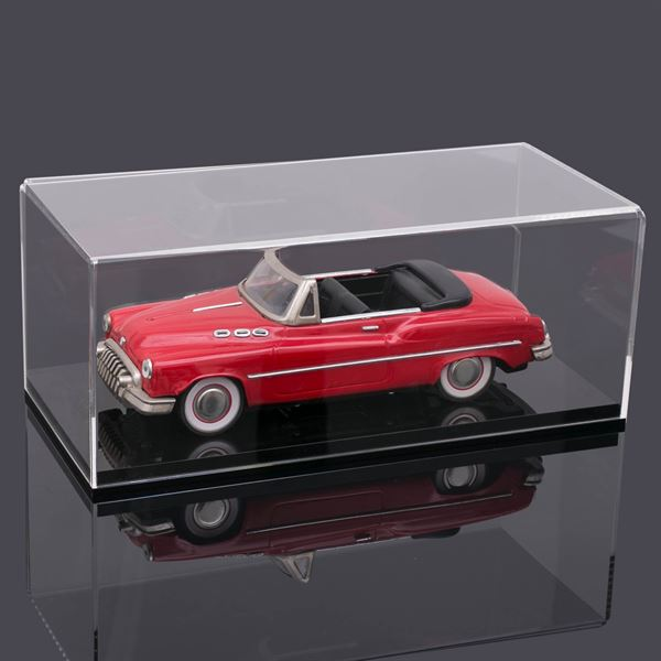 Acryl Vitrine für Modellautos, Figuren, HMF 46804, 34 x 16 x 14 cm