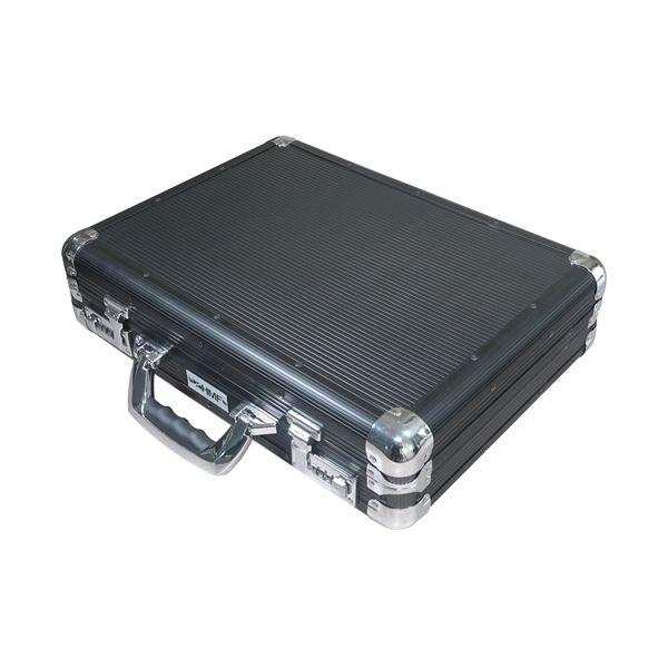 Alu Aktenkoffer mit Zahlenschloss, HMF 14651-02, 45 x 33 x 11 cm