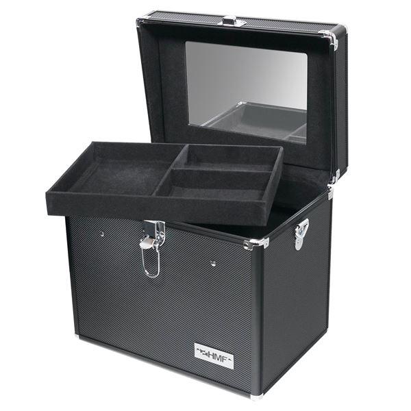 Schminkkoffer, Alu Beauty Case, HMF 14903-02, 29 x 25,5 x 20 cm