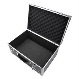 Aufbewahrungskoffer, Transportkoffer Aluminiumrahmen, HMF 18441-02, 48 x 32 x 22,5 cm