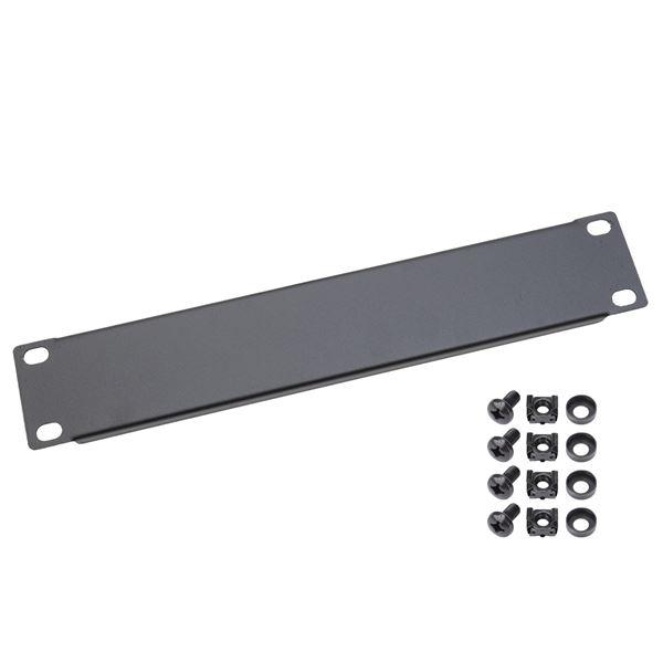 Blindabdeckung Abdeckplatte für Serverschrank, HMF 63370, 10 Zoll