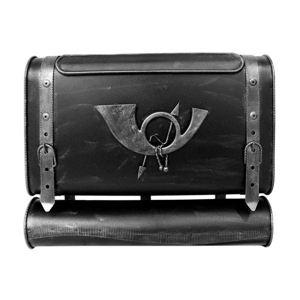 Briefkasten Antiker Koffer mit POSTHORN PH1, 38 x 45 x 10 cm #VarInfo