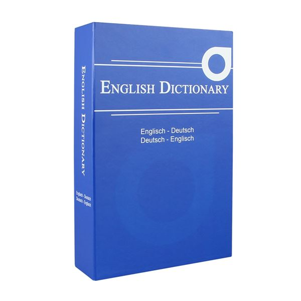Buchtresor English Dictionary, HMF 309, 23,5 x 15,5 x 5,5 cm
