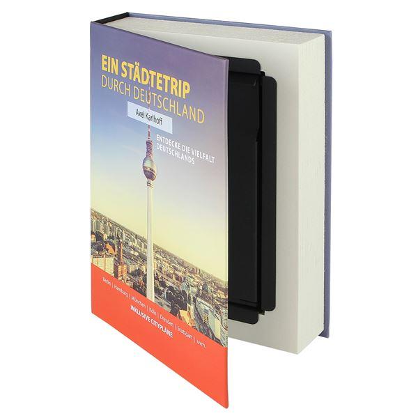 Buchtresor Papierseiten Deutschland, HMF 80915, 23 x 15 x 4 cm