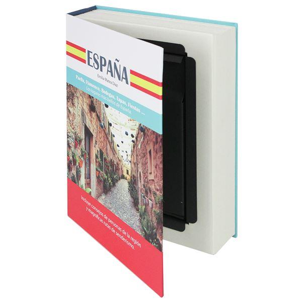Buchtresor Papierseiten Spanien, HMF 80945, 23 x 15 x 4 cm