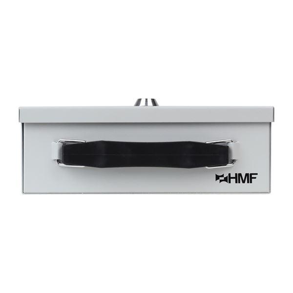 Dokumentenkassette Din A5, HMF 140-07, 27 x 20,5 x 8 cm, lichtgrau