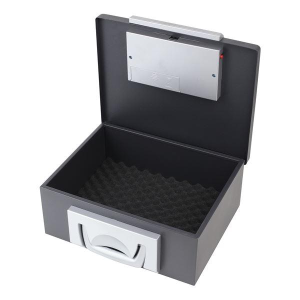 Dokumentensafe Elektronikschloss, HMF 1006-02, 32,5 x 25,5 x 12,5 cm, schwarz