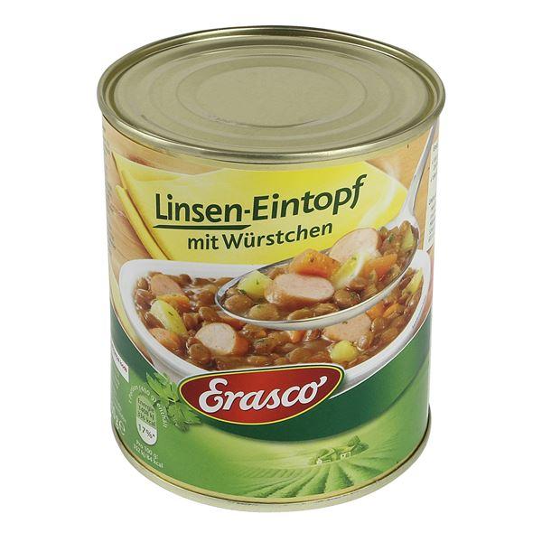 Dosentresor Dosensafe Erasco Linsen-Eintopf, 1723817, 12 x 10 cm