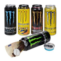 Dosentresor Dosensafe Monster Energy Drink, 1723300, 16 x 6,5 cm