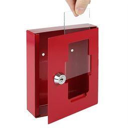 Ersatzglasscheibe Notschlüsselkasten, HMF 1022, 12 x 6,2 cm