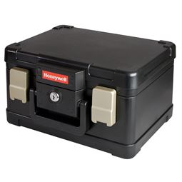 Feuerfeste Dokumentenkassette DIN A5 Honeywell 2511102, 30,9 x 24,9 x 17,8 cm, schwarz