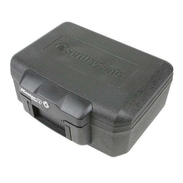 Feuerfeste Dokumentenkassette Master Lock L1200, DIN A5, 36,2 x 28,4 x 15,5 cm, schwarz