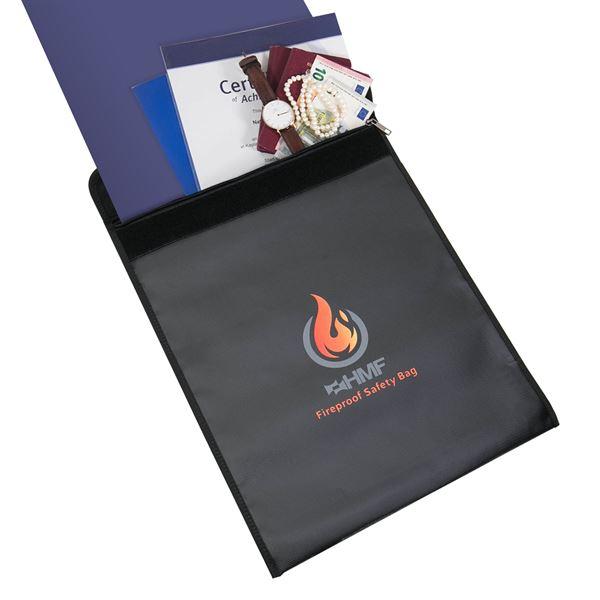 Feuerfeste Dokumententasche DIN A3, HMF 44149, 49 x 38 cm