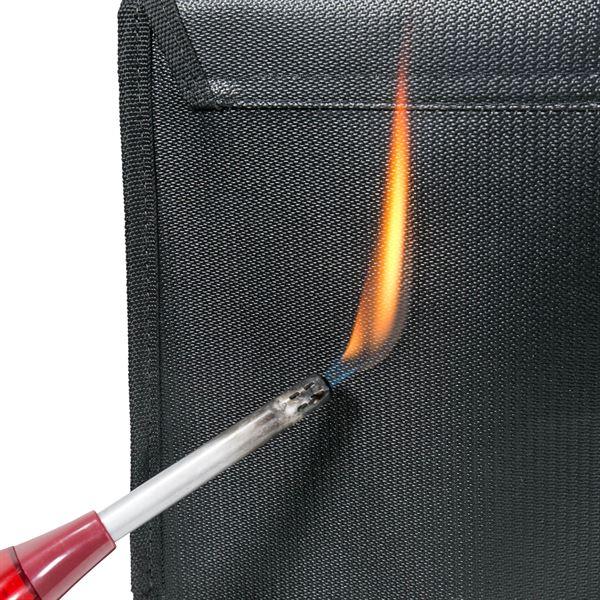 Feuerfeste Dokumententasche DIN A4, HMF 44146, 38 x 28 cm