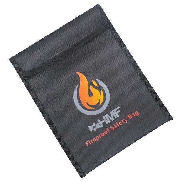 Feuerfeste Dokumententasche, HMF 4414590, 23 x 18 cm