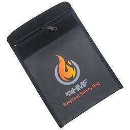 Feuerfeste Dokumententasche DIN A5, HMF 44145, 23 x 18 cm