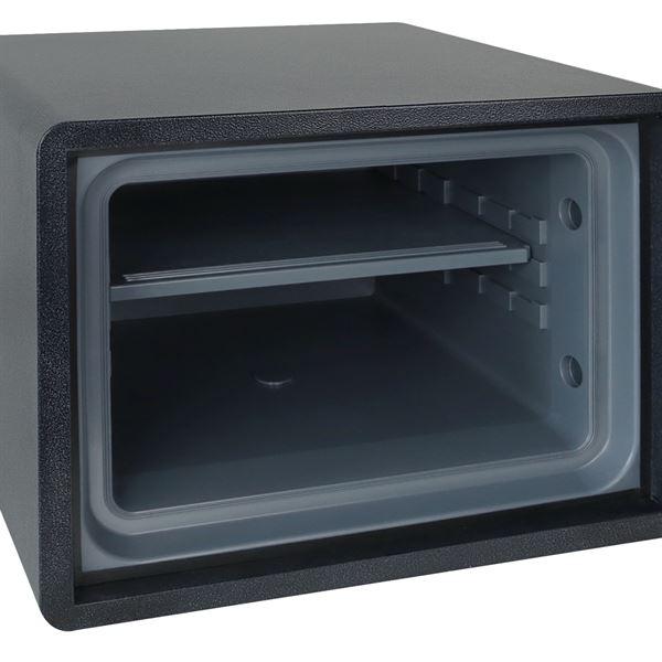 Feuerfester Tresor Elektronikschloss, HMF 46153, 47,5 x 36,5 x 53,5 cm