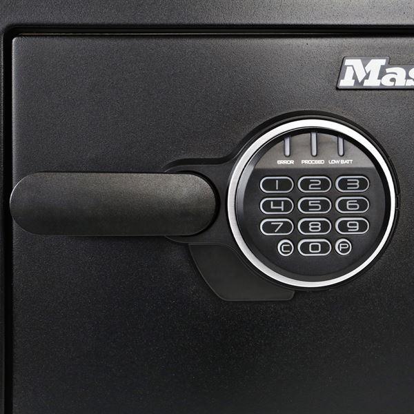 Feuerfester Tresor Elektronikschloss Master Lock LFW082FTC, DIN A4, 41,5 x 34,8 x 49,1 cm