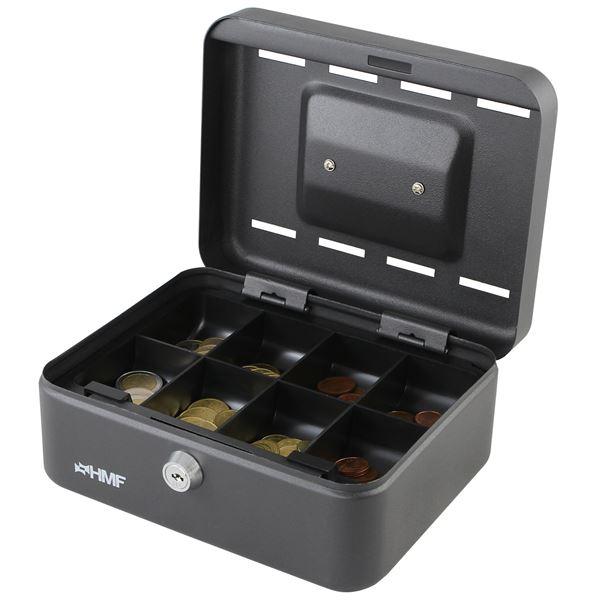 Geldkassette 8 Sparfächer, HMF 3088, 20 x 15 x 8,5 cm
