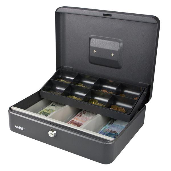 Geldkassette Marktkassette, HMF 15130, 30 x 24 x 9 cm