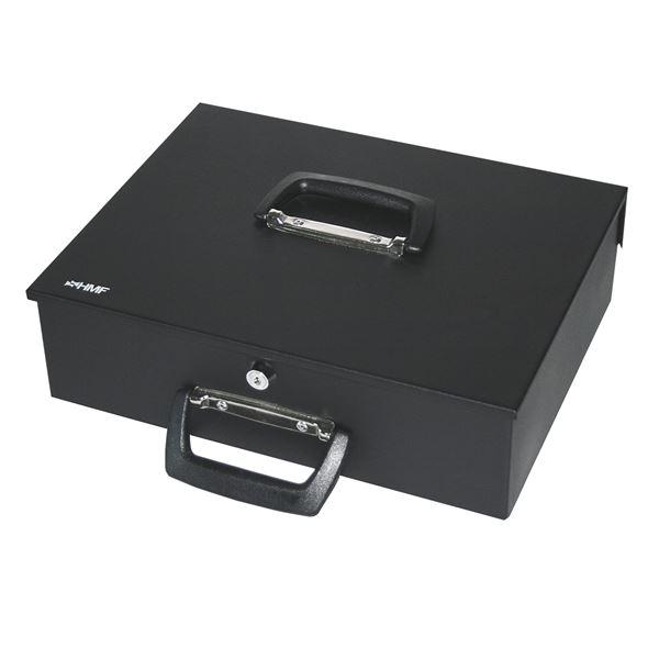 Geldkassette 2 Tragegriffe, HMF 22035, 35 x 27 x 11 cm #VarInfo