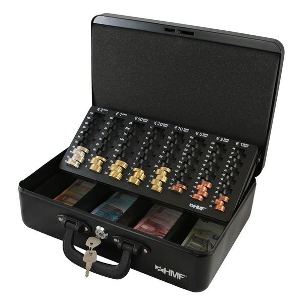 Geldkassette 2 Tragegriffe, HMF 22037, 36 x 25 x 11 cm