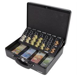 Geldkassette 2 Tragegriffe, HMF 10026, 30 x 24 x 9 cm