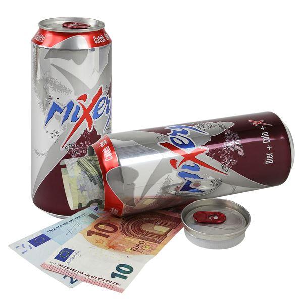 Dosentresor Dosensafe Mixery Bier+Cola+X Drink, 1723603, 16 x 6,5 cm