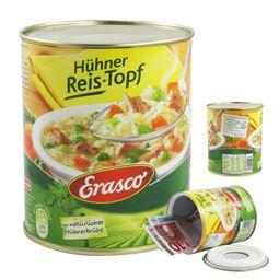 Dosentresor Dosensafe Erasco Hühner Reis-Topf, 1722817, 12 x 10 cm