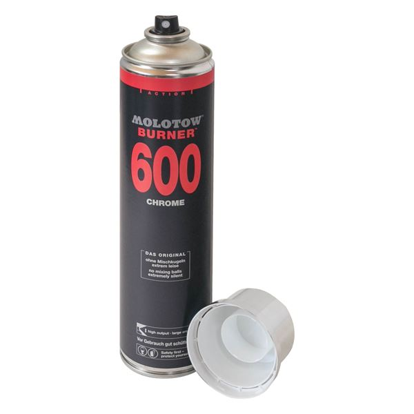 Geldversteck Dosensafe Molotow Burner 600 Chrome Spraydose, 1725402, 28 x 6,5 cm