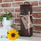 Holz Geschenkbox mit Deckel für Wein, Spanien, HMF VWB-ESP-QF-01