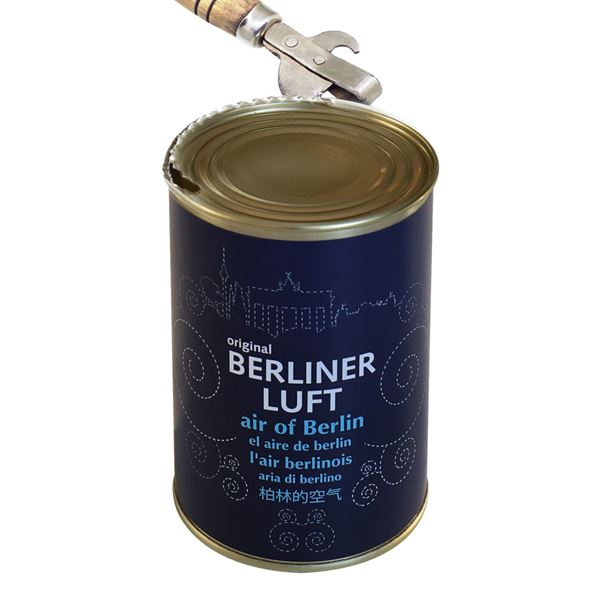 Geschenkidee Original Berliner Luft in der Dose, 1730001, 11 x 7,5 cm