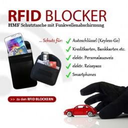 NEU: RFID Schutztaschen, RFID Blocker von HMF
