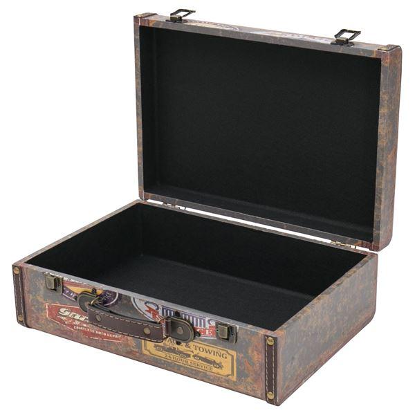 Holzkoffer im Vintage-Design, Garage, HMF VKO107, verschiedene Größen