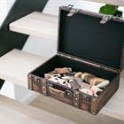 Holzkoffer im Vintage-Design, Klassik, HMF VKO103, verschiedene Größen