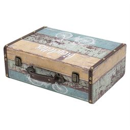 Holzkoffer im Vintage-Design, Fahrrad, HMF VKO106, verschiedene Größen