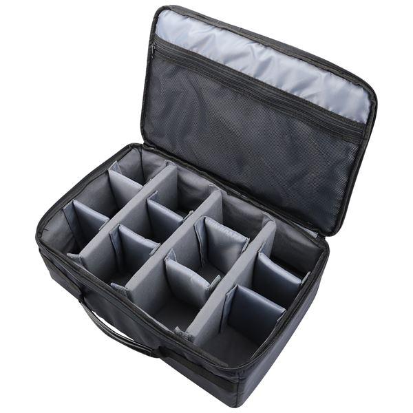 Spiegelreflex Kameratasche, individuelle Trennwände, HMF 18442-02, 44 x 28 x 18 cm
