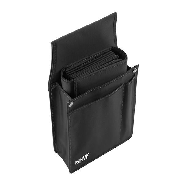 Kellnertasche + Holster Set, HMF 48842-11, 14 x 26 x 5,5 cm, anthrazit