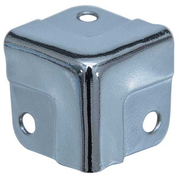 Eckenschutz für Koffer, 8 Stück, HMF 14965, verschiedene Größen, Silber verzinkt