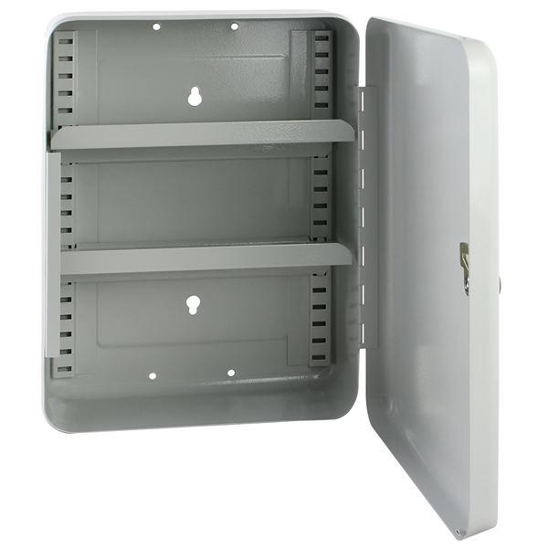 Medizinschrank, HMF 10732-07, 32 x 23 x 9,5 cm, lichtgrau