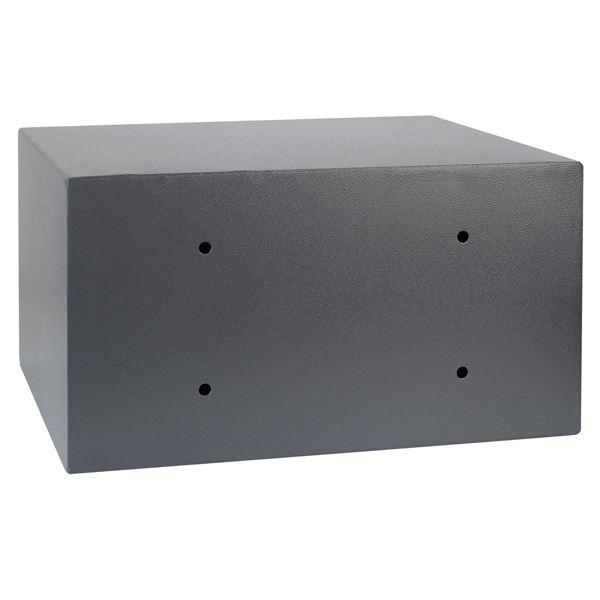 Möbeltresor Elektronikschloss, HMF 4612412, 45 x 25 x 36,5 cm, anthrazit