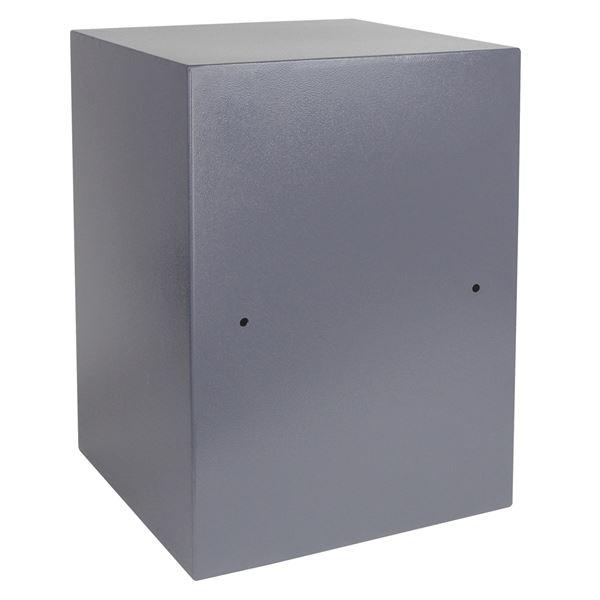 Möbeltresor Elektronikschloss, HMF 4612512, 50 x 35 x 31 cm, anthrazit