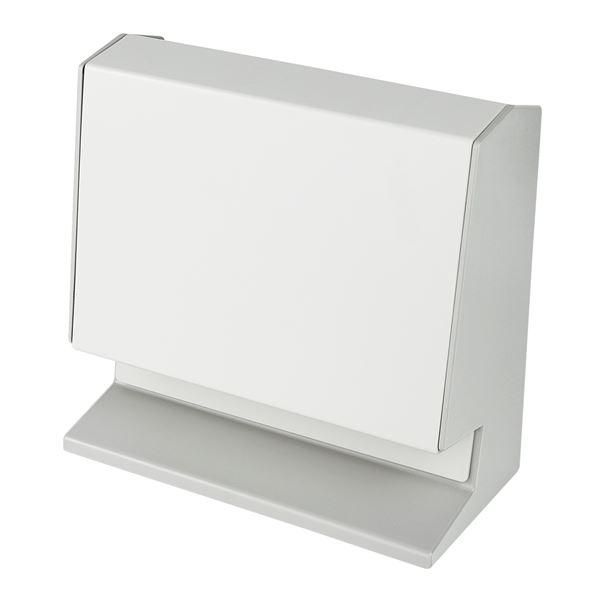 Münzsortierer Spardose, HMF 4700-07, 21 x 19,5 x 10 cm, lichtgrau