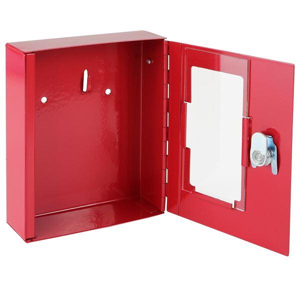 Notschlüsselkasten, HMF 1020-03, 15 x 12 x 4 cm, rot